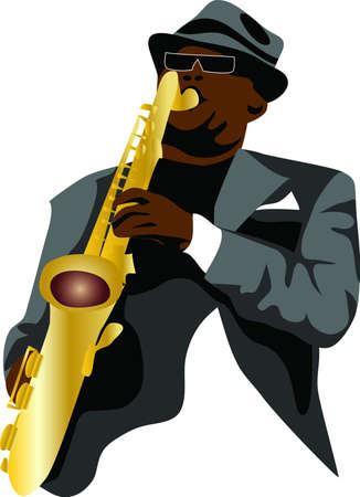 jazz musician: saxophonist