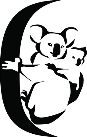 marsupial: koala logo