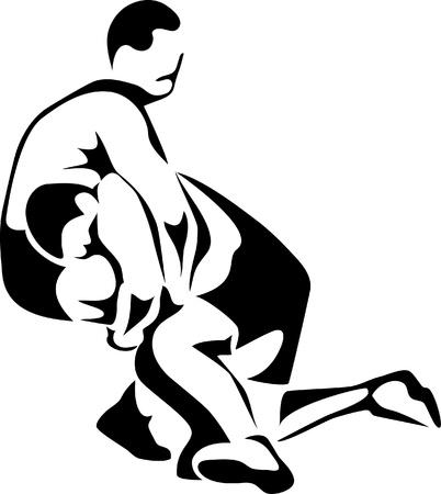 worstelaars logo