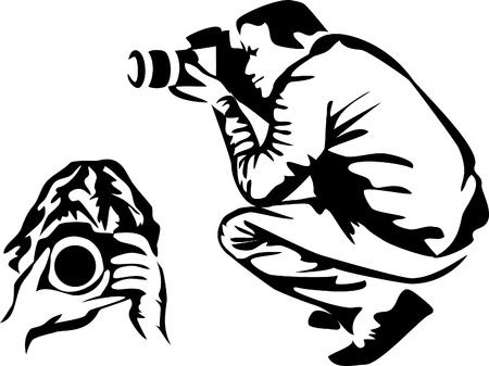 photographer logo Stock Vector - 16279779