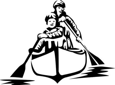 canoa: piragüismo
