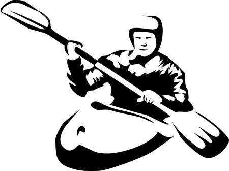 kayaking: kayaking logo