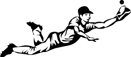 baseball catcher: jumping baseball player