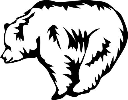 brown bear logo Stock Vector - 17271643