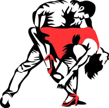 cubana: baile de salsa