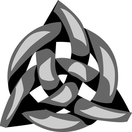 triquetra - talisman Stock Vector - 18416592