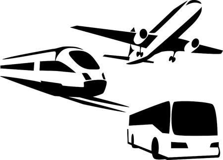 passenger transportation Stock Vector - 19328751