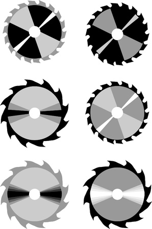 circular saw blade Stock Vector - 20242999