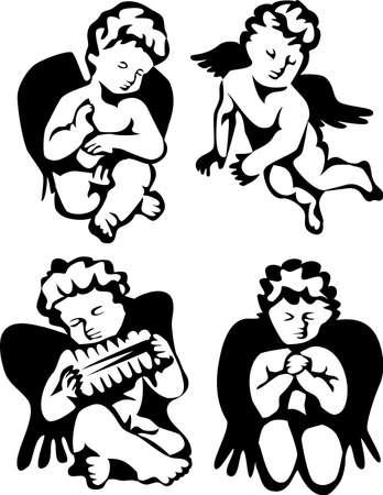 cherub: angels Illustration