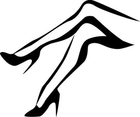legs stockings: tacchi a spillo