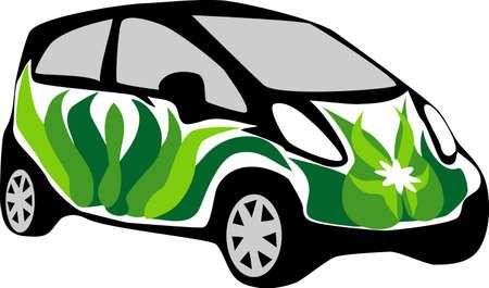 car leaf: eco - friendly car