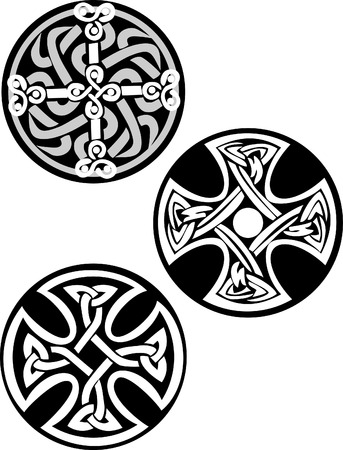 knots: celtic cross