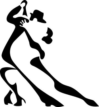 Lateinische Tänzer Standard-Bild - 24196684