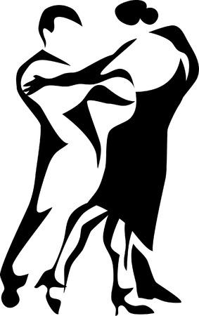 salsa dancer: dancers