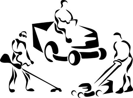 recortando: cortar iconos hierba