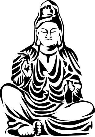 buddha statue: guan yin