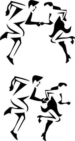 rockabilly: rock and roll dancing