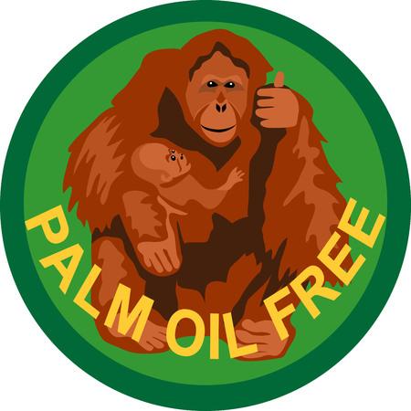 sumatran: Palm oil free label