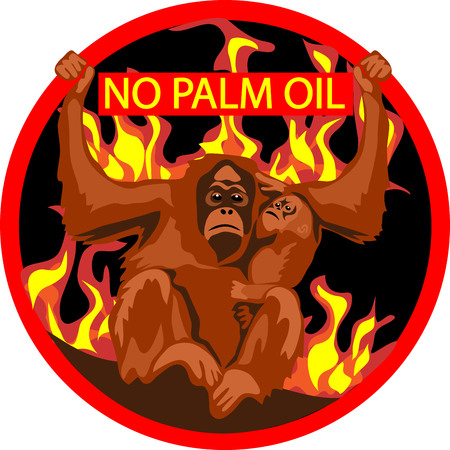 hominid: No palm oil label