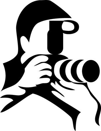 awaiting: Photographer Illustration