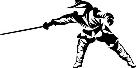 European medieval fighter