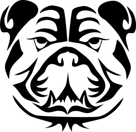 bulldog head