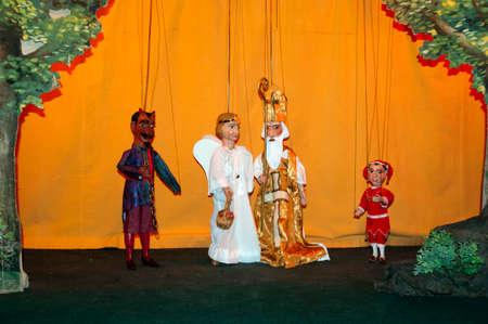 Puppet theater for children
