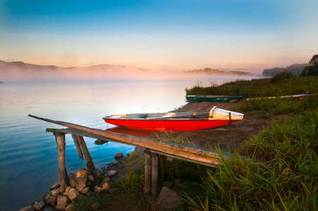 lipno: lake Lipno Stock Photo