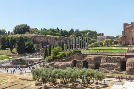 The Sacred road of the Roman forum to Colosseum