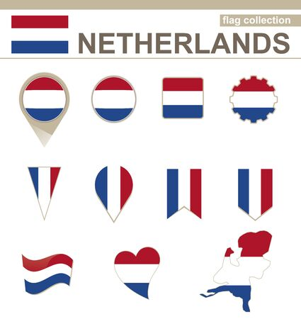 netherlands flag: Netherlands Flag Collection, 12 versions