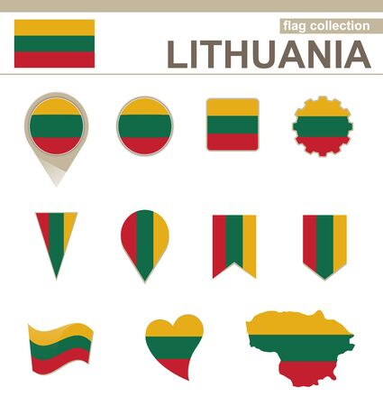 lithuania flag: Lithuania Flag Collection, 12 versions