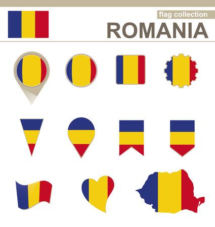 romania flag: Romania Flag Collection, 12 versions