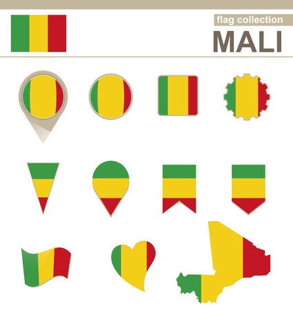 correctly: Mali Flag Collection, 12 versions