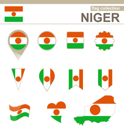 niger: Niger Flag Collection, 12 versions