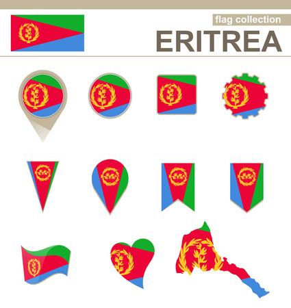eritrea: Eritrea Flag Collection, 12 versions