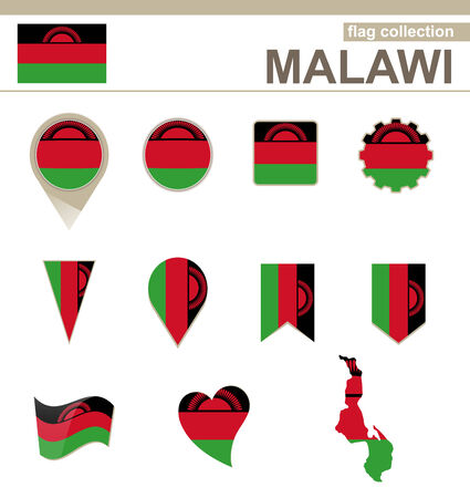 malawi flag: Malawi Flag Collection, 12 versions