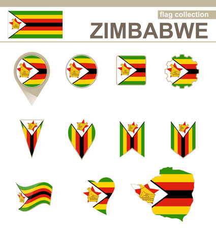 zimbabwe: Zimbabwe Flag Collection, 12 versiones