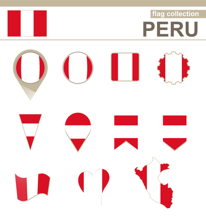 bandera de peru: Per� Bandera Collection, 12 versiones