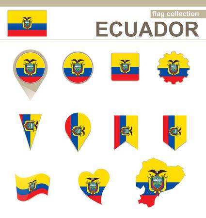versions: Ecuador Flag Collection, 12 versions