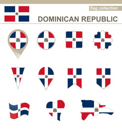 dominican republic: Dominican Republic Flag Collection, 12 versions