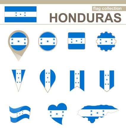versions: Honduras Flag Collection, 12 versions