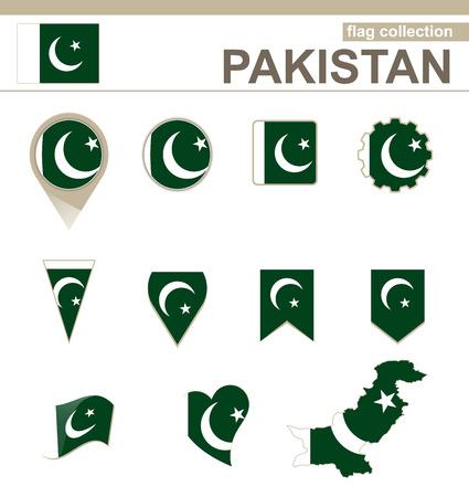 pakistan flag: Pakistan Flag Collection, 12 versions