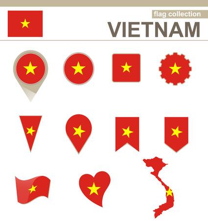 vietnam flag: Vietnam Flag Collection, 12 versions