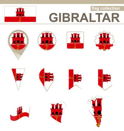 gibraltar: Gibraltar Flag Collection, 12 versions