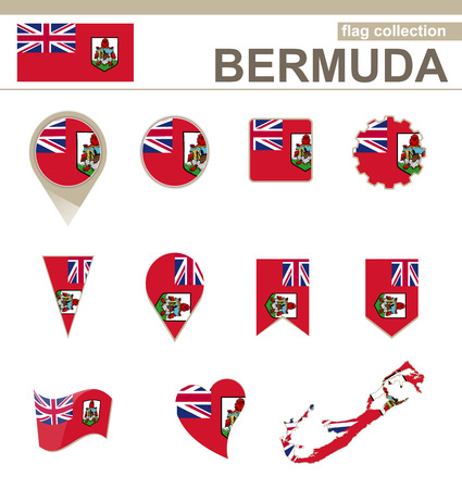 versions: Bermuda Flag Collection, 12 versions