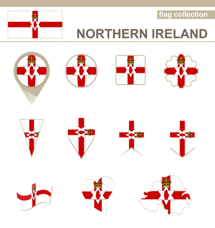 Northern Ireland Flag Collection, 12 versions