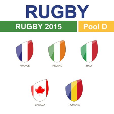 new england: Rugby 2015, Pool D, 5 Flag