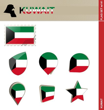 kuwait: Kuwait Flag Set