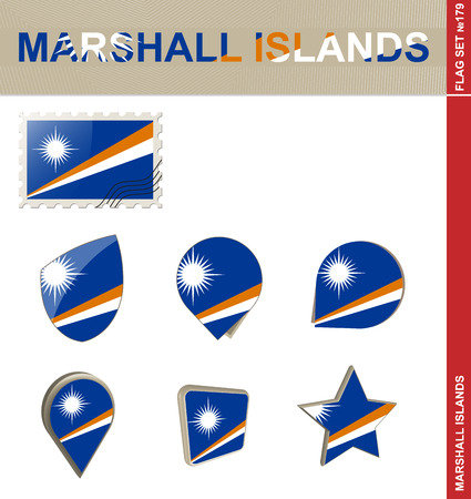 marshall: Marshall Islands Flag Set