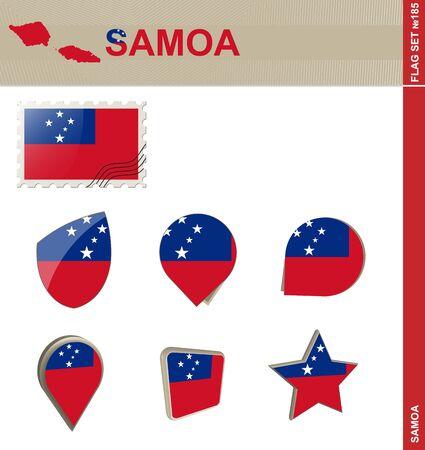 samoa: Samoa Flag Set